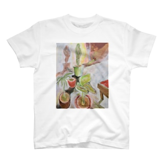 Still Life with a CactusⅢ T-shirts