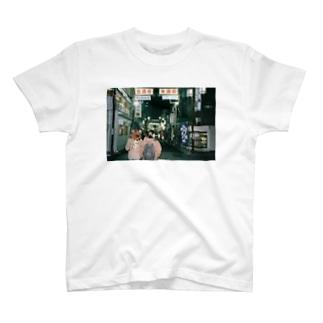 浅草散歩Tシャツ T-shirts