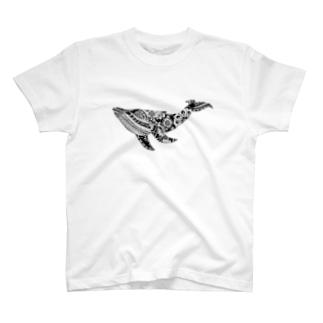 Botanical-Whele T-shirts