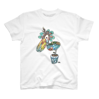 トリの鉢 T-Shirt