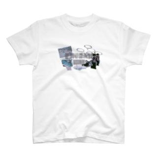著作権バッチリ T-shirts
