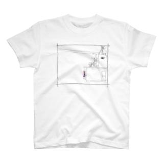 027団地床屋 T-shirts