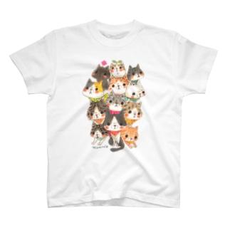 12匹の猫 T-shirts