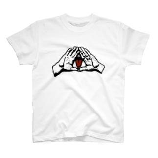 イルミナティ・タング(A) T-shirts
