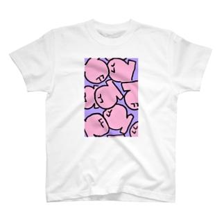 もちちゃん T-shirts