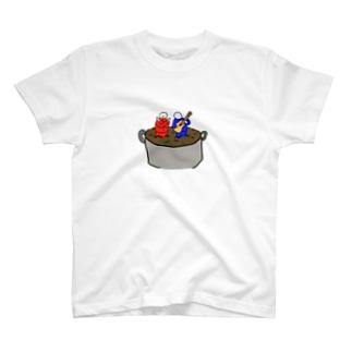 みそ汁になっちゃった豆腐マンブラザーズ T-shirts