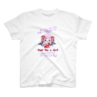 ヘラ天悪ちゃんT T-shirts
