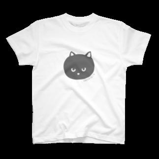 かもみゆきのONAKASUITA NEKO T-shirts