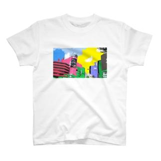 原宿にて T-shirts
