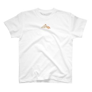 みずみずしいいきもの〈アミメキリン〉Tシャツ T-shirts