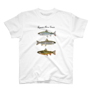 Japanese Native Trouts T-shirts