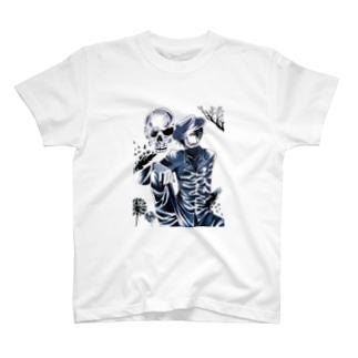 オリジナル・ダークサイドの紳士 T-shirts