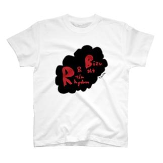 リズム&坊主(ロゴversion) T-shirts