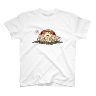シシバナヘッド(アルビノ) T-shirts