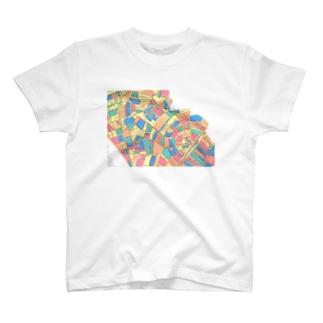 地図 T-shirts