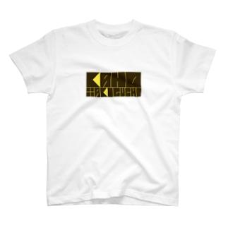 滝口果歩オリジナルロゴグッズ kaho yellow T-shirts