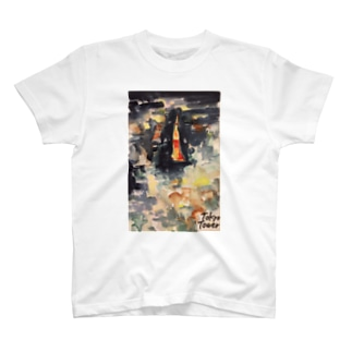 東京ネオン T-shirts