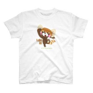 """大耳のレッサーパンダ """"I did it!"""" T-shirts"""