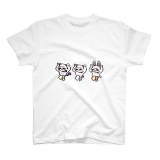 [酔拳・ぼち子さん]ぼっちのためのTシャツ T-shirts