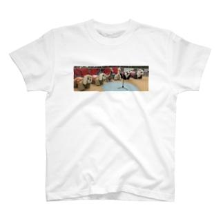"""マイクスタンドの""""マイキー""""のマイクスタンドのマイキー 遊園地 T-Shirt"""