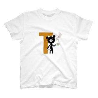 モノクマアルファベットT T-shirts