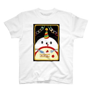 お誕生日のパンダさん T-shirts