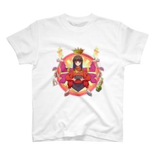 母は愛 T-shirts
