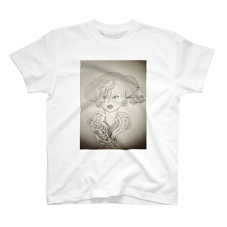ラベンダー夫人 T-shirts