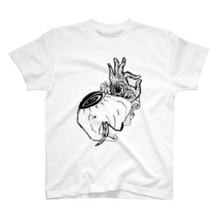サイケデリックエレファント T-shirts