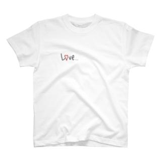 L♡VE T-shirts