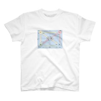 ふぃろの感情グラフとPPMマトリックス改 T-shirts