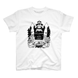 烏賊の紋章 T-shirts