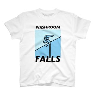 『洗面所の滝』 T-shirts