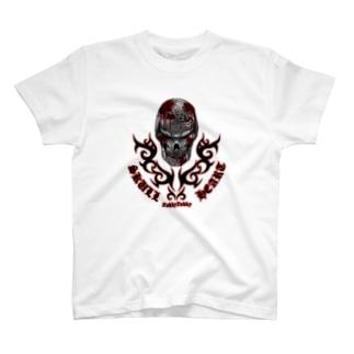 スカルハート06 T-shirts