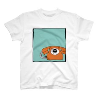 電話(おれんじ) T-shirts
