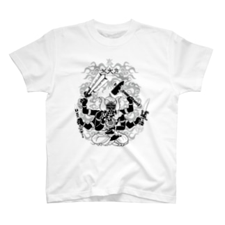 クロート・クリエイションの封コロナ~力菩薩合体バージョン~ T-shirts