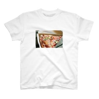 YUKI KUROKIのPIzza T-Shirt