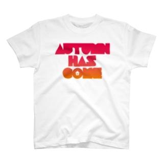 AUTUMN HAS COME T-shirts