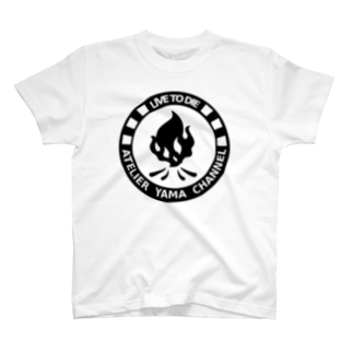 【LIVE TO DIE】ホワイト T-shirts
