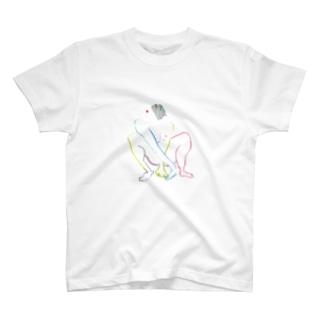 ヌードクロッキーN T-shirts