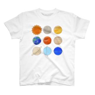 Planets T-shirts