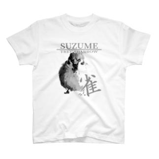 東京すずめ(雀Tシャツ) T-shirts