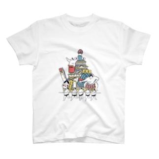 九州場所お相撲さん T-shirts