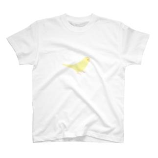 きいろインコ T-shirts