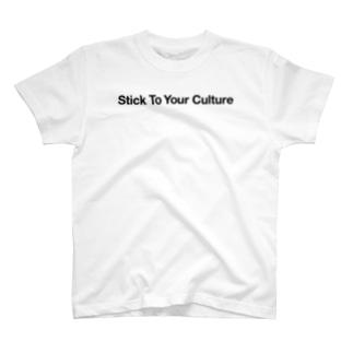 STYC straight logo T-shirts
