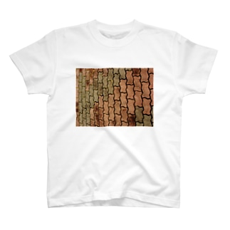 hiroki-naraのテクスチャー DATA_P_123 T-shirts