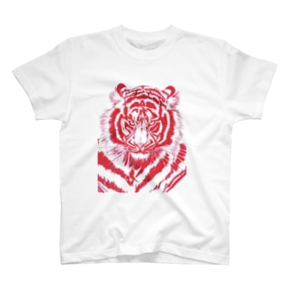 Red Tiger  T-shirts