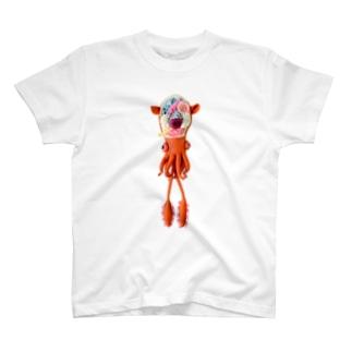 解剖小耳イカ T-shirts