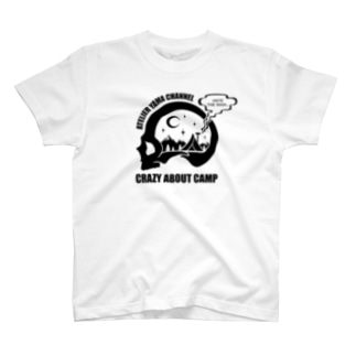 【CRAZY ABOUT CAMP】ホワイト T-shirts