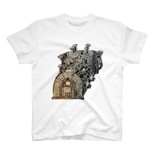 登窯絵図 T-shirts
